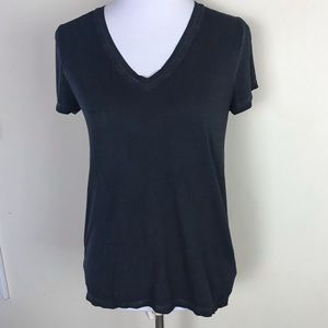 🌸Michael Kors Distressed V Neck Tee EUC Size S
